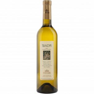 Вино Vardiani Тбилисури белое полусухое