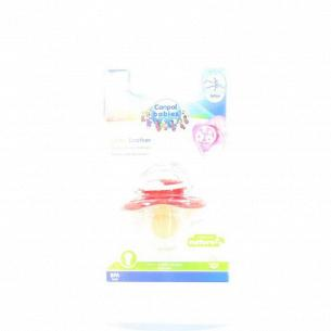 Пустышка Canpol babies круглая латексная 0-6м 22/606