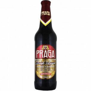 Пиво Praga Dark Lager темное 4,5%