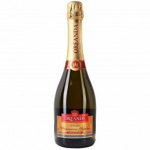 Шампанское Oreanda белое полусладкое