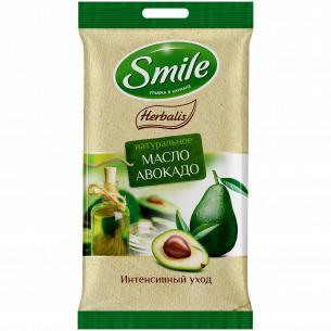 Салфетка влажная Smile Herbalis в ассортименте