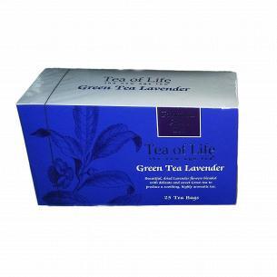 Чай зеленый Tea of Life с цветами лаванды