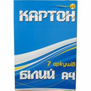 Картон Тетрада А4 белый