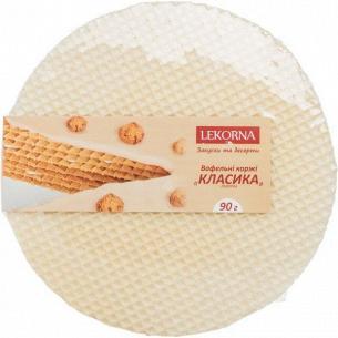 Коржи вафельные Lekorna Классика