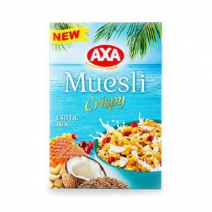 Мюсли AXA с семенами льна клюквой и кокосом