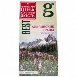 Чай Gr@ce!СмесьТрав с зеленым чаем Альпийские травы