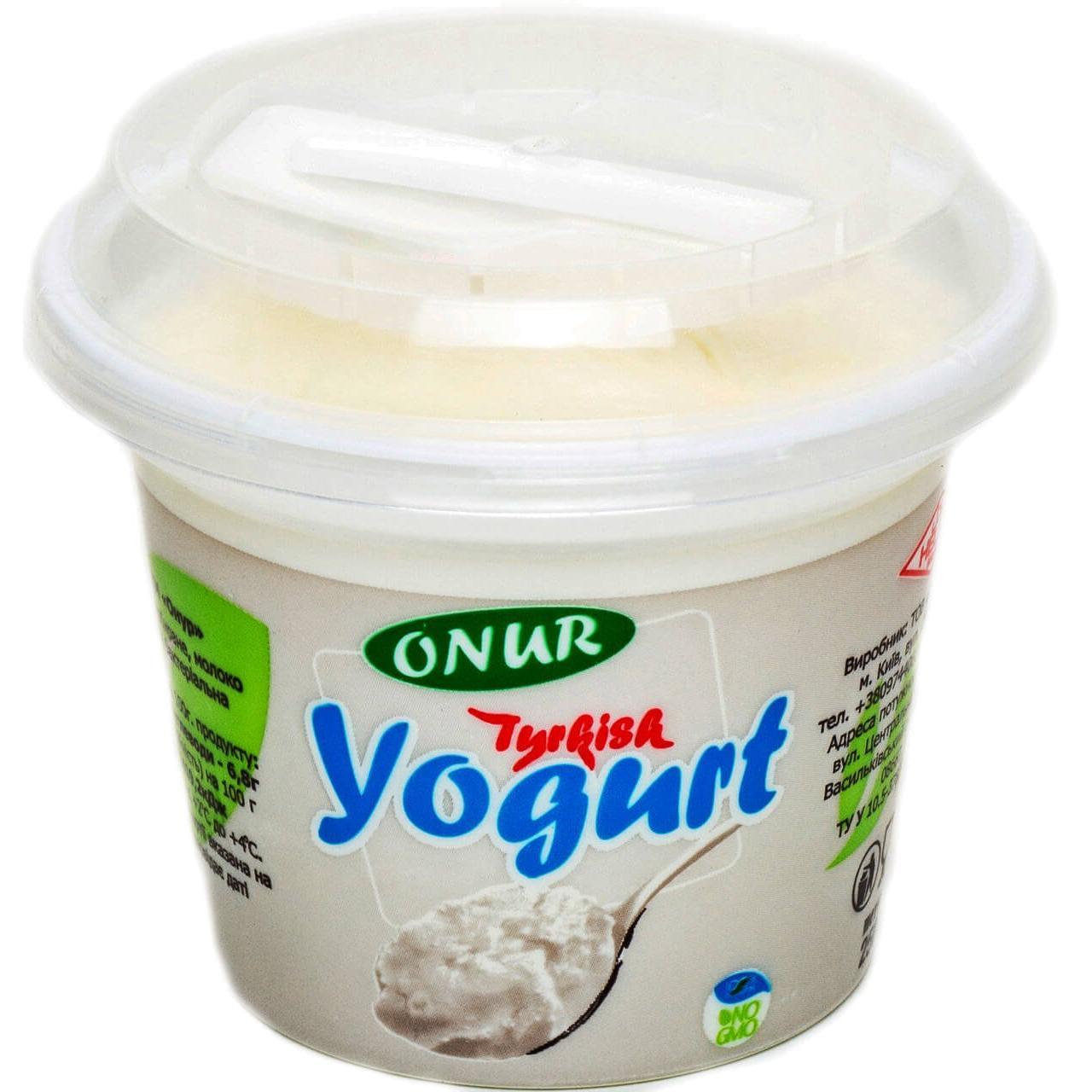 Йогурт Onur Турецький / '250г