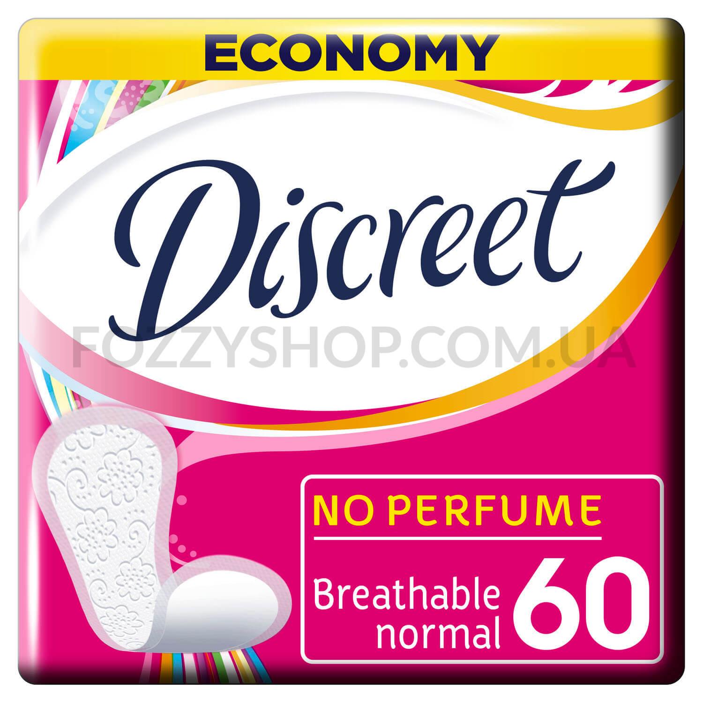 Щоденні гігієнічні прокладки Discreet Normal 60 шт / '60шт/уп