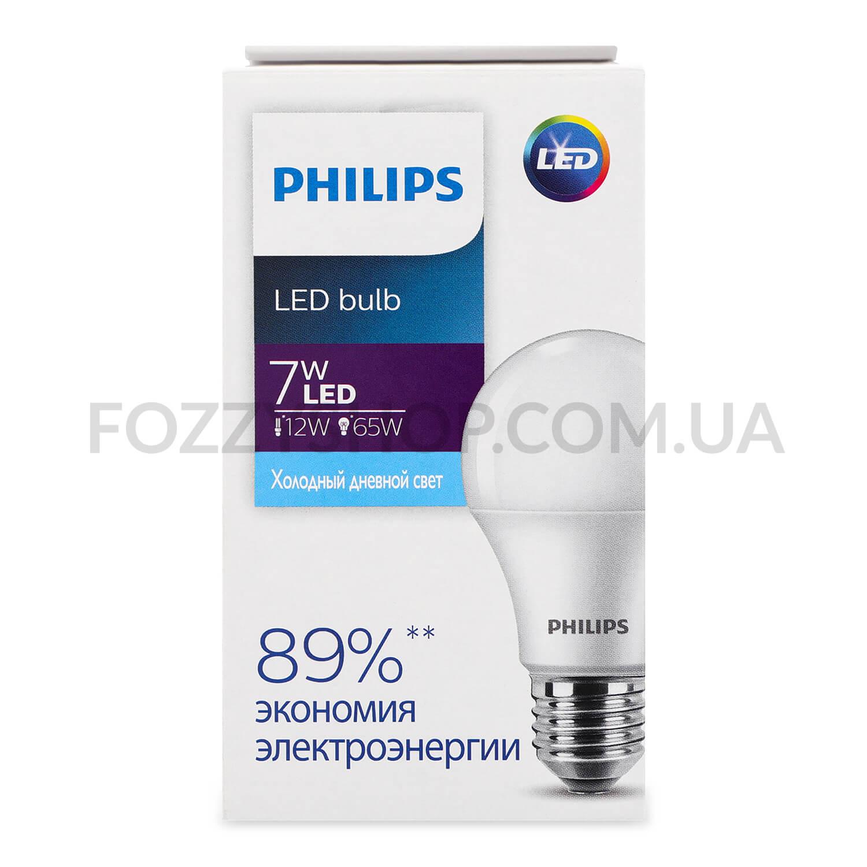 Лампа Philips Ecohome LED Bulb 7W 6500K E27 / 'шт