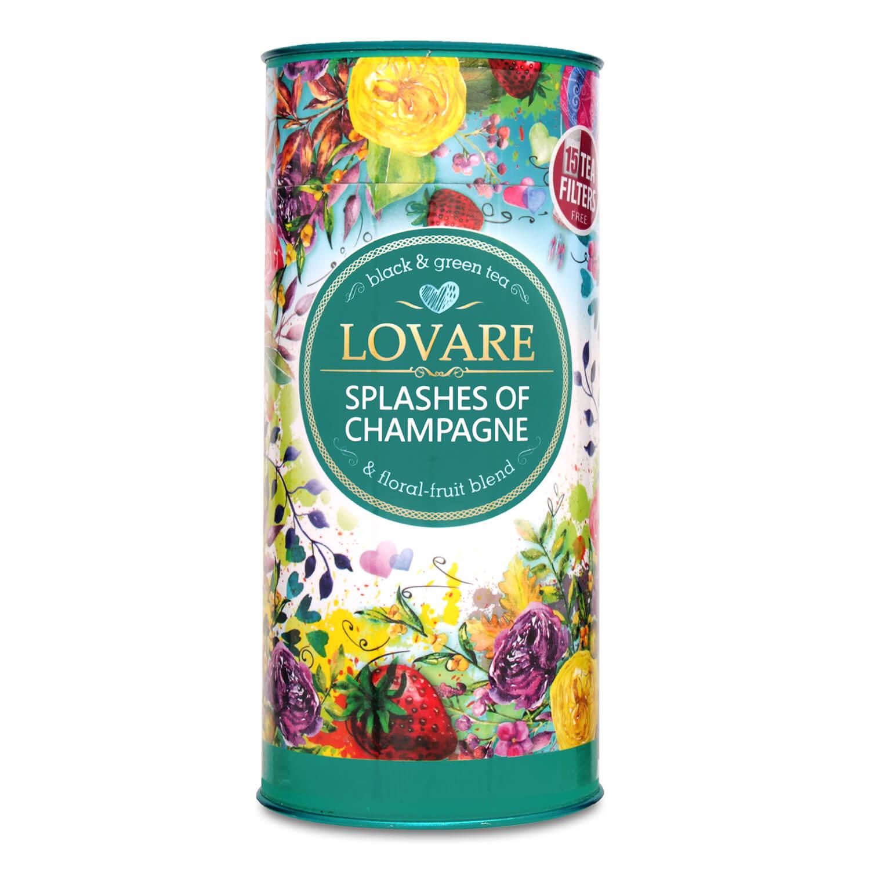 Чай зелений Мономах Ловаре Бризки шампанського / '80г