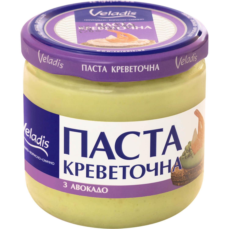 Паста креветкова Veladis з авокадо с/б / '150г