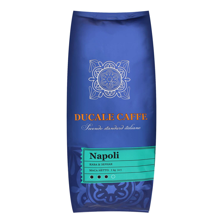 Кава зерно Gemini Napoli натуральна смажена / '1кг