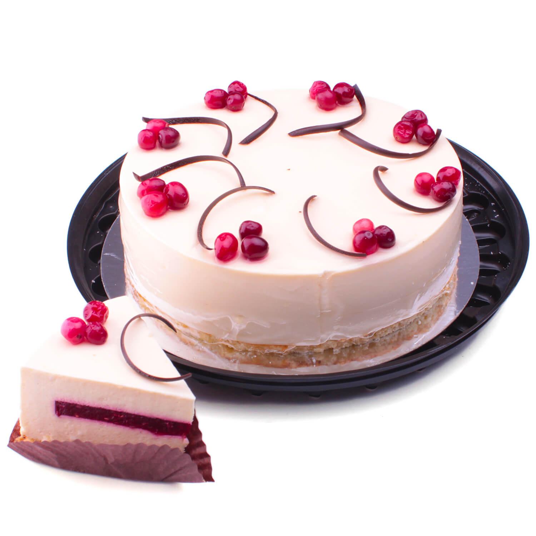Торт Чіз-Кейк малиновий / 100г.