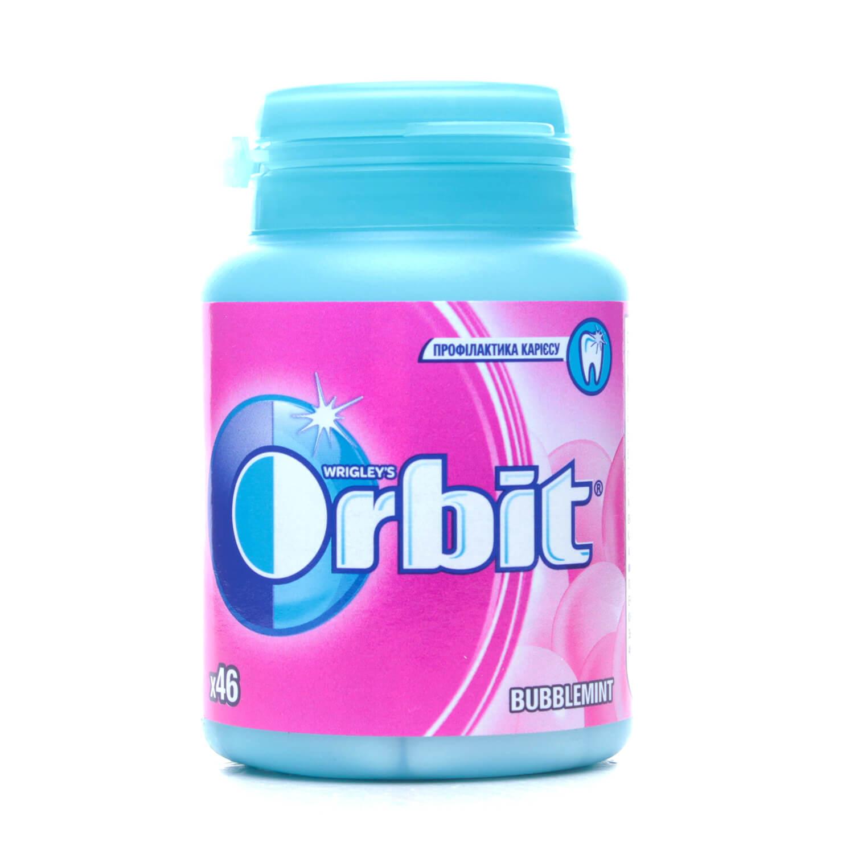 Жувальна гумка Orbit Bottle Баблмінт / '64г