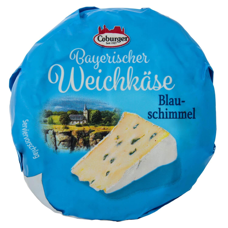 Сир Coburger Bayerischer Weichkase Blauschimmel45% / '150г