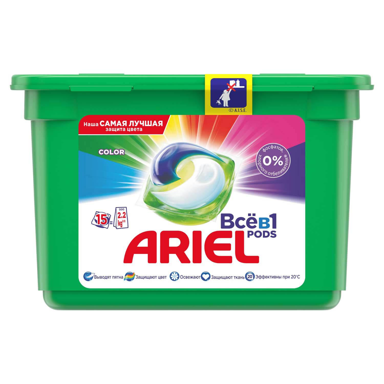 Гель-капсули для прання Ariel Color Style автомат / '15*28,8г/у