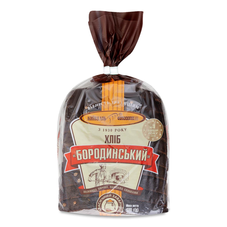 Хліб Київхліб Бородинський нарізаний / '400г