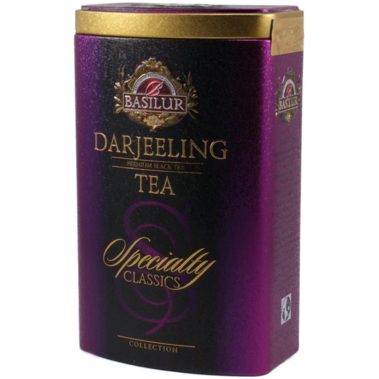 Чай чорний Basilur Дарджилінг індійський / '100г