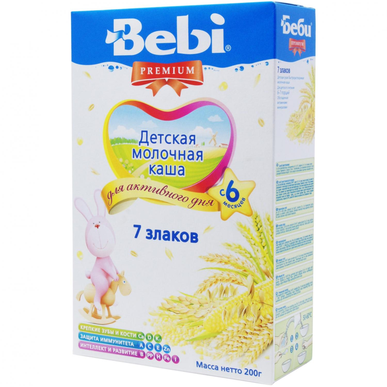 Каша Bebi Premium 7 злаків / '200г
