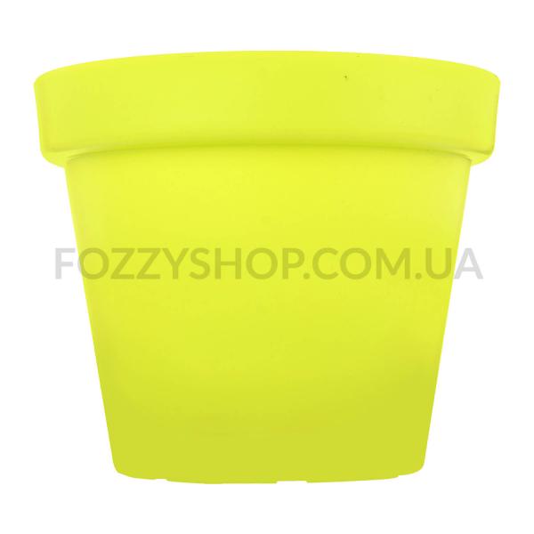Горшок Patio Soft зеленый пластик d11см