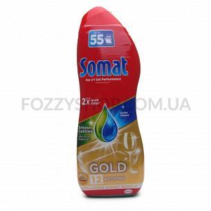 Гель для посудомоечных машин Somat Gold Анти-жир