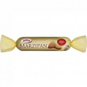 Батончик Zentis марципан в чорному шоколаді