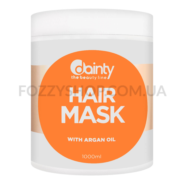 Маска для волос Dainty с маслом аргана