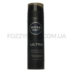 Гель для бритья Nivea Ultra черний