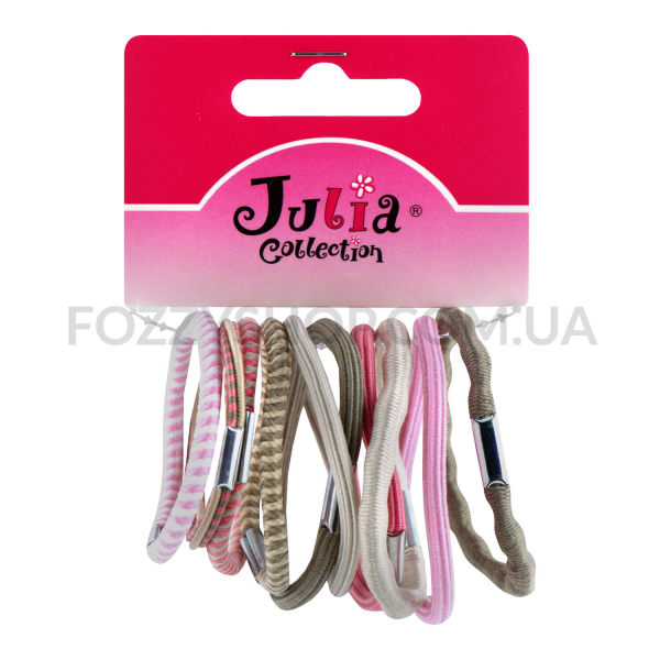 Н-р резинок для волос Julia Collection 10шт D01