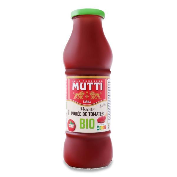 Пюре Mutti томатное органическое
