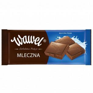 Шоколад молочний Wawel