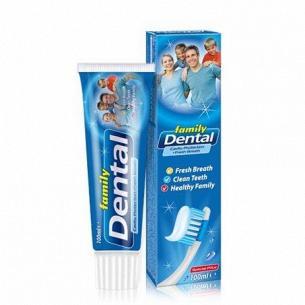 Паста зубная Dental Family профилактика кариеса и свежестьдыхания