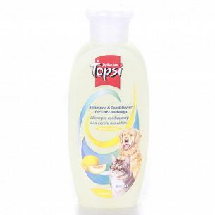 Шампунь-кондиционер Topsi для кошек и собак