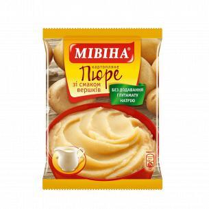 Пюре Мівіна картофельное со вкусом сливок б/п пак
