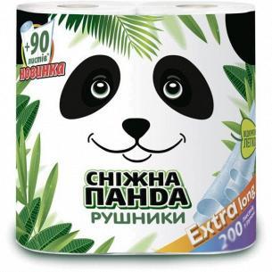 Полотенца бумажные Сніжна панда Extra Long