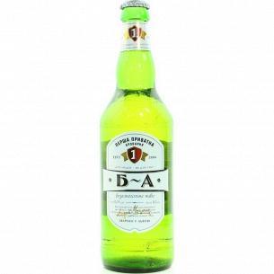 Пиво Перша приватна броварня Нулевка безалкогольное