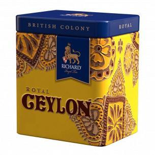 Чай черный Richard Royal Ceylon ж/б