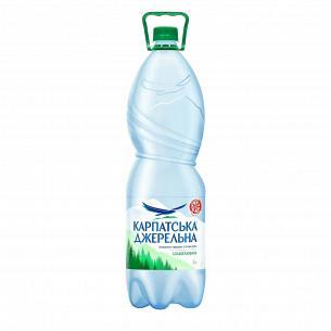 """Вода минеральная """"Карпатська Джерельна"""" слабогазированная"""
