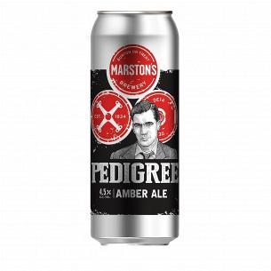 Пиво Marston`s Pedigree янтарное ж/б