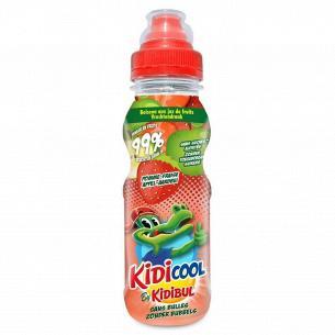 Напиток Kidibul яблоко-клубника б/а негазированный