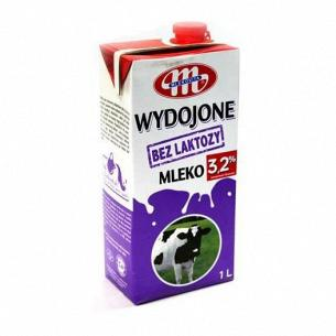 Молоко Mlekovita без содержания лактозы 3,2%