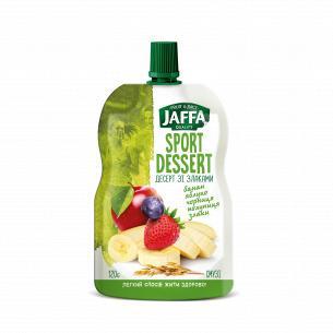 Смузи Jaffa банан-яблоко-черника-клубника-злаки
