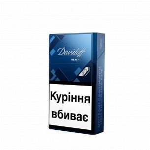 Сигареты Davidoff Rich в пачке синего цвета