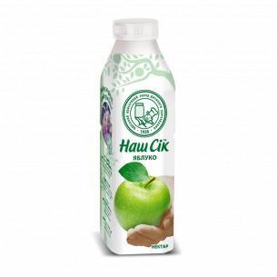Нектар Наш Сік яблоко 0,5л