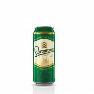 Пиво Staropramen светлое ж/б