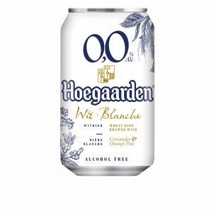 Пиво Hoegaarden White безалкогольное ж/б