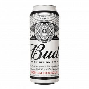 Пиво Bud Prohibition Brew светлое безалкогольное ж/б