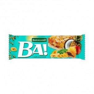 Батончик Bakalland злаковый 5 тропических фруктов