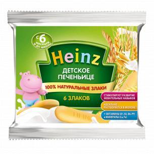Печенье Heinz детское 6 злаков