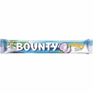 Батончик Bounty Trio с мякотью кокоса в молочном шоколаде